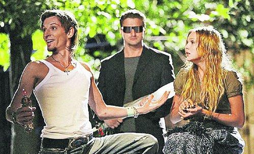 В отличие от героя Паши Воли Тимы Милана (слева) настоящий Билан - сама скромность.