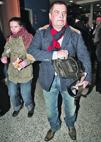 Николай Расторгуев не мог пропустить самую громкую премьеру января.