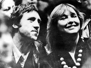 С Мариной Влади на IV Международном московском кинофестивале. 1973 год.