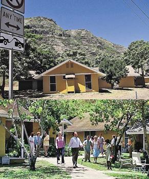 Нынче в лагере Других (снизу - снимок из сериала) проводят каникулы обычные американские студенты.