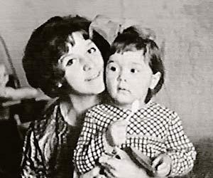 Супруга актера Тамара Ивановна с дочерью Анной