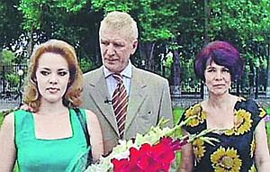 Абдулов вместе с племянницей Ирой (слева) и невесткой Галиной.
