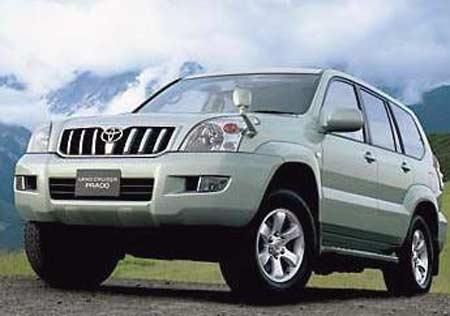 Toyota Prado $60 тыс.