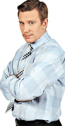 Вадима Колганова без фирменных «рыбкинских» усов и не узнают на улице.