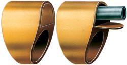 Стреляющий перстень Р.Ж. Уитинга (ЮАР, 1988 г.) в «походном» и «боевом» положении. Ударный механизм взводится при выдвижении ствола вперед.