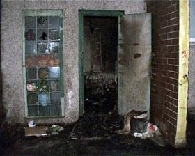 Последней от рук злоумышленника пострадала подсобка дворника на проспекте Маяковского.