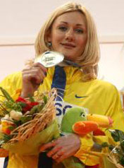 Татьяна Петлюк «добегалась» до серебряных наград.