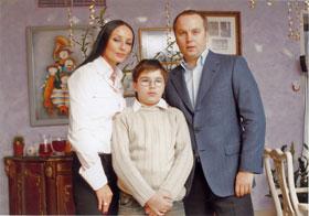 Бывшие супруги Ворона и Шуфрич вместе отпраздновали 12-й день рожденья их сына.