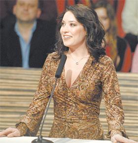 Певица попала на шоу в роли независимого эксперта.