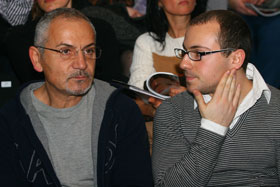 Савик Шустер показал тусовке сына Стефана.