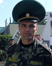 Подполковник Гибелинда стал военным с третьего раза. Как будто судьба не пускала...