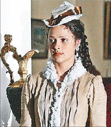 Кадр из сериала «Сонька Золотая Ручка» - Микульчина идеально вошла в образ.