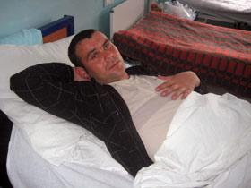 Прапорщик Андрей Дзус: - От удара я моментально потерял сознание.