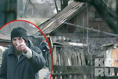 Сарай, в котором нашли истекающего кровью Петра Кузнецова. Фото: Александр ТОЛКАЧЕВ.