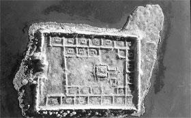 Вид сверху. Крепость - правильный прямоугольник со сторонами 211х158 метров.