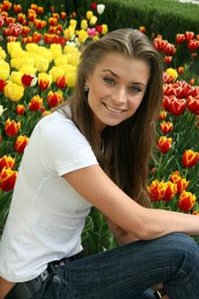 Аня Лапенко из Луганска стала Мисс читательских симпатий.