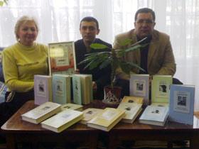 Людмила Шарф: - Вместе с книжной коллекцией мы нашли новых друзей из фонда «Украино- Азербайджанской дружбы».