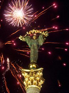 Праздничный салют можно будет посмотреть на Майдане в 22.00.