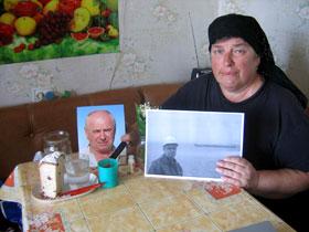 Людмила Кошевая, жена погибшего мастера буровой, считала свой брак самым счастливым на земле.