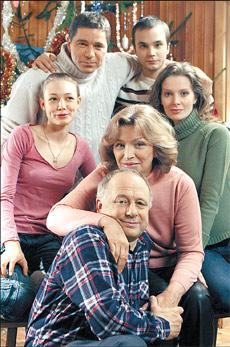 Семейство Гриневых в сборе.