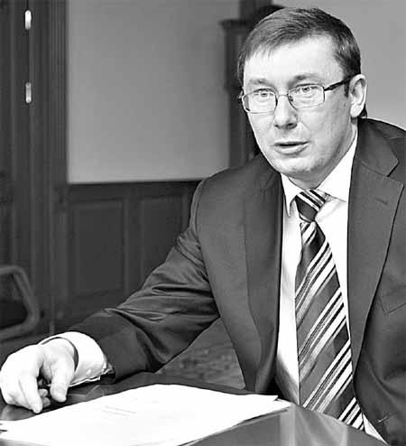 Юрий Луценко: - Возглавляемый мною блок - единственный, который не идет в Киевсовет за должностями.