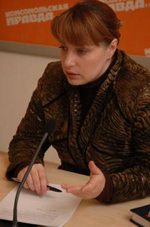 Светлана Берзина.