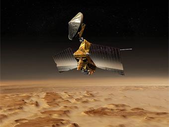 MRO Orbiter. Изображение с сайта NASA.