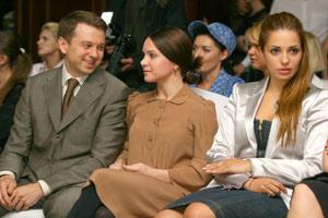 Звездные гости: чета Нагорных-Подкопаевых и Евгения Тимошенко-Карр.