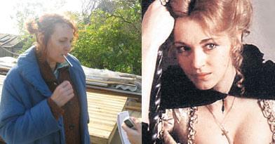 Первая и последняя роль Лютаевой в кино: красавица- княжна и сельская баба. Межу ними - 20 лет.