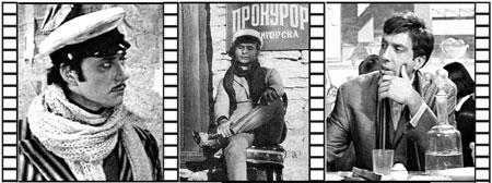 Самые знаменитые киноперевоплощения Бендера: Андрей Миронов, Арчил Гомиашвили и Сергей Юрский.