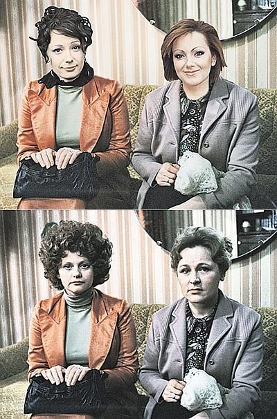 Чулпан Хаматова и Ольга Будина в качестве Людмилы и Антонины выглядят очень даже органично