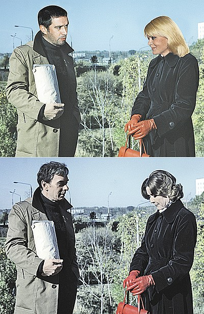 Юлия Меньшова в роли Екатерины Тихомировой смотрится весьма непривычно, зато Владимир Машков - вылитый Гоша