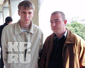 Александр Непомнящих (слева) и Юрий Патронов чудом избежали травм... Фото: Анна Фирсова