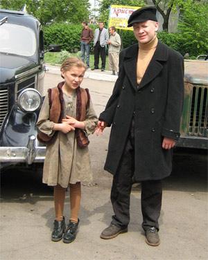 Казатинская ребятня сыграет в фильме беженцев.
