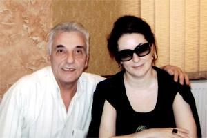 Зорик и Тамара в Запорожье долго болтали, вспоминая детство и юность певицы.