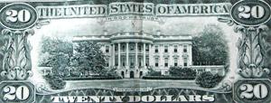 Картинку американского дома-двойника до сих пор печатают на купюрах.
