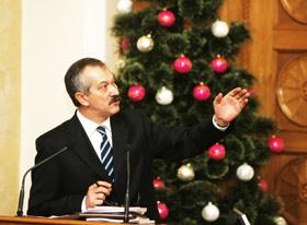 Министр финансов Виктор Пинзеник.