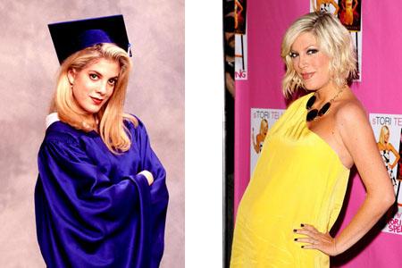 Сегодня Тори Спеллинг, совсем недавно родившая второго ребенка, готовится выйти на съемочную площадку нового «Беверли» в роли все той же Донны Мартин, которая по сюжету теперь станет владелицей модного бутика.