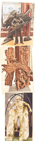 За эти макеты тоже проголосовали многие посетители центра искусств «Сузiр'я».