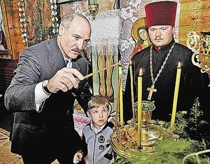 По словам Александра Лукашенко, его младший сын Николай - «это святое».