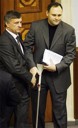 На счету - каждый «штык». Влада Каськива досрочно «выписали» с больничного.