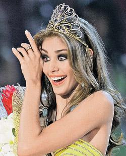Новая «Мисс Вселенная» - Диана Мендоса.