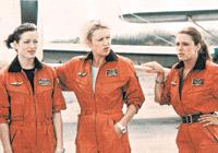 Cыграть летчиц Алене и Ирине помогла бурная фантазия.