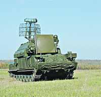 Ракетный комплекс Тор-М1...
