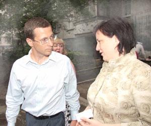 Жители домов 42 и 42а по пр.Кирова делились с лидером «Самопомощи» наболевшим...