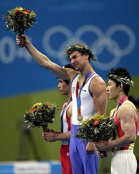 На минувшей Олимпиаде в Афинах Валерий Гончаров добыл «золото».