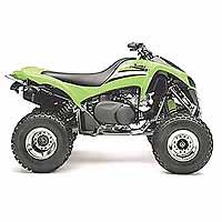 Kawasaki KFX 700 Lime Green (2x4, 697 куб. см, 49 л.с., автомат. КПП), цена - 53 249,99 грн.