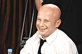Алексей уже 12 лет работает на украинском ТВ.
