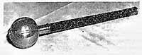 Уникальное фото 1950-х годов булавы непобедимого атамана Ивана Сирко (сейчас хранится в музее казачества в США). Если всмотреться, бронзовый Богдан на Софийской площади в Киеве держит такую же!