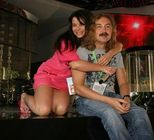 Когда-то Наташа была музой Николаева - теперь они просто друзья.